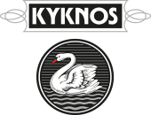 The official logo of the Greek Canning Company KYKNOS.